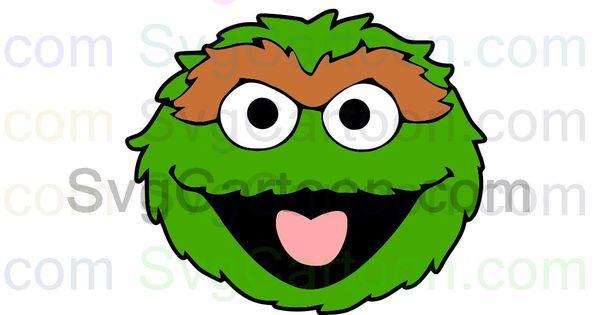 Oscar The Grouch Sesame Street Svg Dxf Eps Pdf Png Sesame Street Oscar The Grouch Grouch