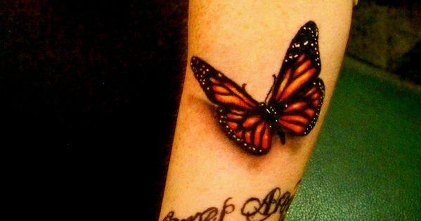 3D butterfly tattoo on arm -Tattoo Design Tattoo tattoodesign