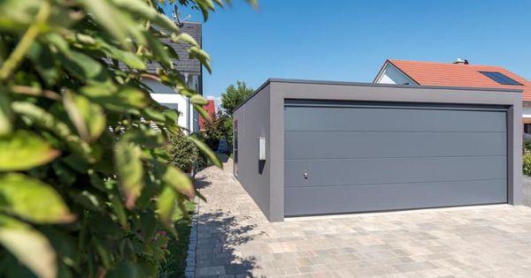 z line fertiggarage mit breitem garagentor garage pinterest fertiggaragen hobbyraum und. Black Bedroom Furniture Sets. Home Design Ideas
