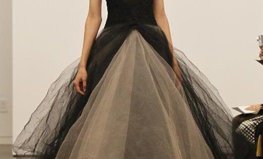 vera wang wedding dresses | vera wang black wedding gown collection |