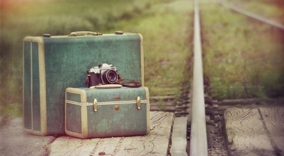 Vintage Suitcases for Photo Shoots♥