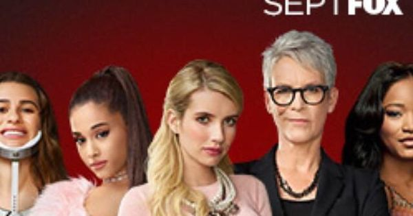"New ""Scream Queens"" promotional photo. With Ariana Grande!!"