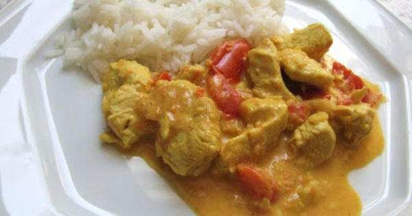 Curry de poulet la tomate thermomix pinterest for Espace cuisine thermomix