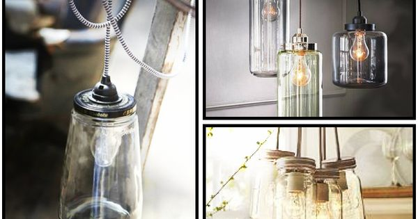 diy lamp licht an pinterest glas k che und deko. Black Bedroom Furniture Sets. Home Design Ideas