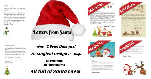 free letter from santa free letters from santa we forgot to tell you elves 21854 | dcb754a22ceca12f1926114ad3d8eb5c