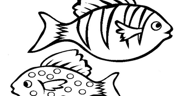 Fish Color Pages To Print Fish Coloring Page Coloring Pages Online Coloring Pages