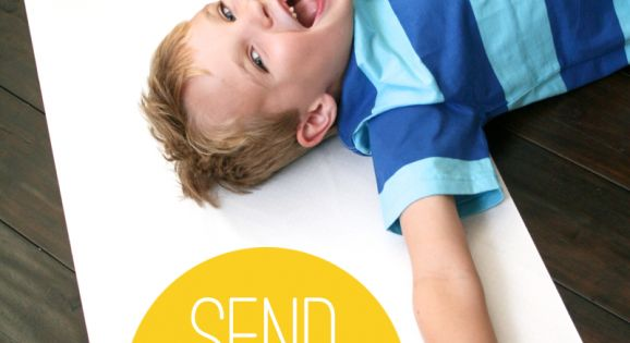 Send a Hug in the mail~ fun gift idea for family living