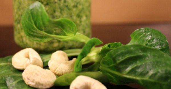 Rezept: Pesto aus Feldsalat | Food | Pinterest | Pesto and Html