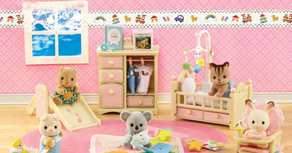 Calico Critters Official Website Baby Nursery Sets Baby Nursery Nursery Set