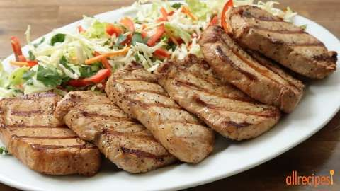 Best Grilled Pork Chops Food Pinterest