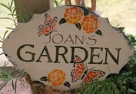 Etsy Personalized Garden Sign Google Search Garden Signs Personalized Signs Etsy Personalized