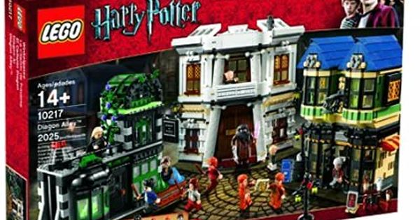 Amazon Com Lego Harry Potter Toys Games In 2020 Harry Potter Diagon Alley Lego Harry Potter Diagon Alley