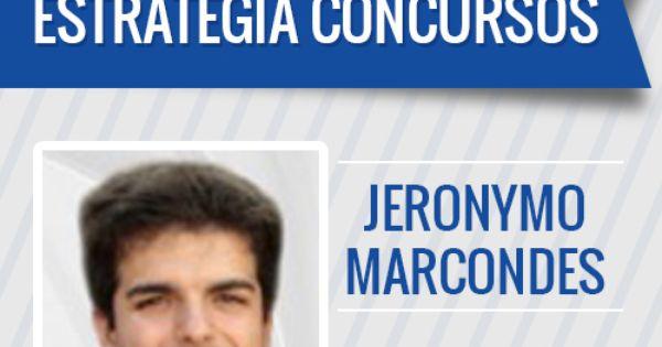 Jeronymo Marcondes E Professor De Economia Financas Publicas