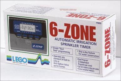 Lego 6 Zone Sprinkler Timer Dual Program Click On The Image For Additional Details Sprinkler Timer Sprinkler Timer