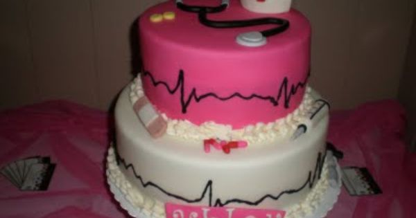 aww i love it great graduation cake from medical nurse cake