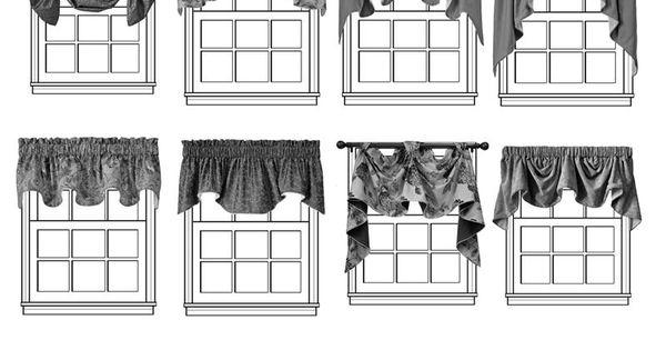 Different Window Valance Styles Window Treatments