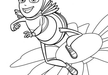 bee movie coloring pages pinterest bee movie and bees. Black Bedroom Furniture Sets. Home Design Ideas