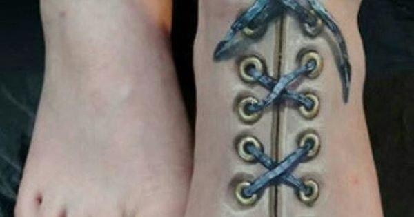 If this is a genuine corset lacing tattoo it is fucking for Heebie jeebies tattoo