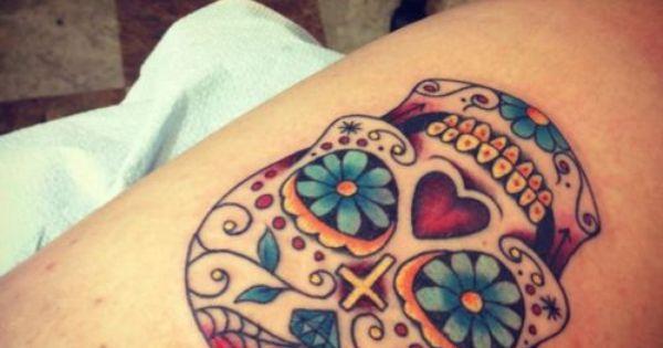 Sugar Skull Tattoos | Free Tattoo Ideas