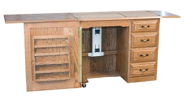 Amish made economy sewing cabinet home goods pinterest for Amish furniture home of economy