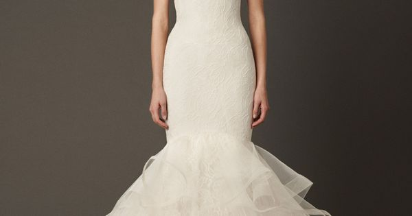 Simple Yet Elegant Wedding Dresses: I Love How Soft This Whole Dress Is. Even At The Bottom
