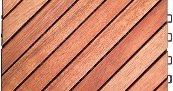 Vifah 11 22 X 11 22 Wood Interlocking Deck Tile In Tan Wayfair Interlocking Deck Tiles Deck Tile Deck Tiles