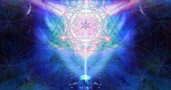Cosmic Fantasy Fractal Blacklight: Spiritual Awakening