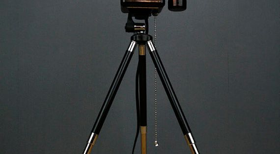 Upcycled Camera Lamp - Argus 75 Twin Lens Reflex - from Etsy