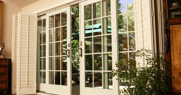 Puertas francesas blancas puertas correderas de exterior for Puerta francesa corrediza