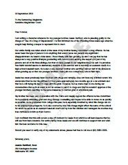 Character Reference Letter For Court And Templates Reference