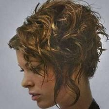 Pin En Curly Hair
