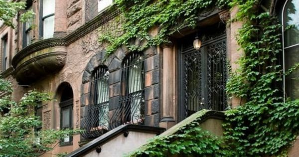 Beautiful wrought iron doors, balconies and windows......love the greenery covered walls