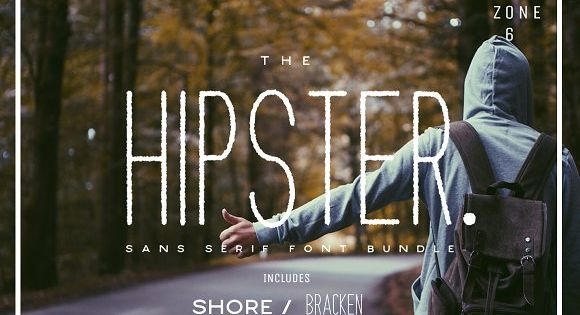 The Hipster Sans Serif Font – a carefree, fun, yet sophisticated sans-serif font