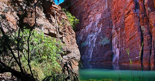 Joffre Gorge, Karijini National Park, oh the colours