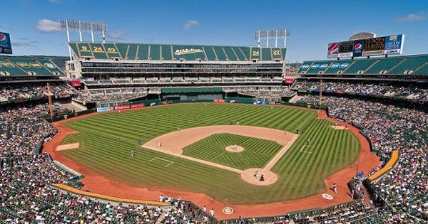 Oakland A S Should Rebuild On Current Coliseum Site Mlb Stadiums Baseball Stadium Oakland Coliseum