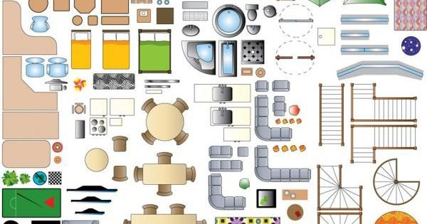 1:100 Scale Furniture Templates - Google Search