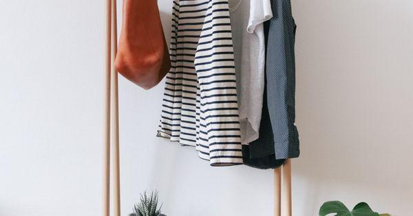 retrouvez notre diy pour cr er une penderie design en bois en partenariat avec le bon coin. Black Bedroom Furniture Sets. Home Design Ideas