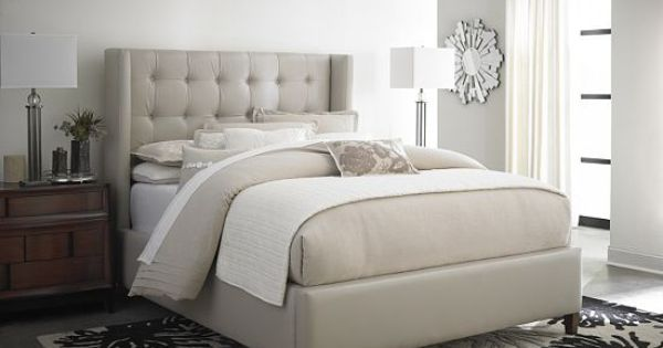 Bedrooms Winter Park King Upholstered Fabric Bed