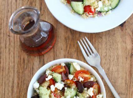 Greek Quinoa Salad (Two Peas and Their Pod) quinoa salad gluten_free