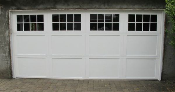 White garage door from wayne dalton garage doors www for Wayne dalton 9100 series