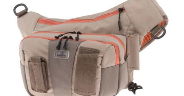 Magellan outdoors sling pack fly fishing pinterest for Spiderwire sling fishing backpack