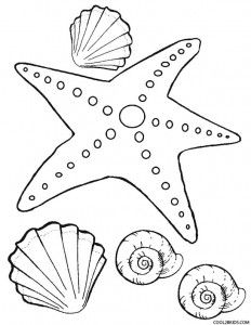 Starfish Coloring Page For Kids Fish Coloring Page Free Coloring Pages Star Coloring Pages