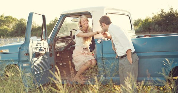 i have a weakness for guys with trucks. all these pictures are