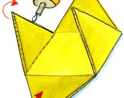 Pyramide Zusammenkleben Basteln Basteln Anleitung Basteln Mit Kindern