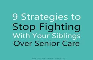 Sharing Caregiving Responsibilities With Siblings Can Cause