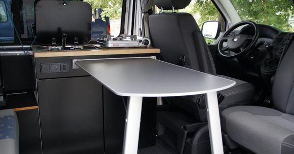 Un hogar sobre ruedas ideas para camperizar una furgoneta con muebles de cocina y estores de - Muebles furgoneta camper ...