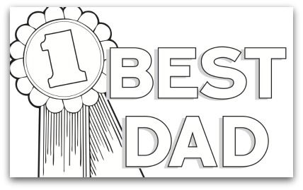 Father S Day Coloring Pages Free Father S Day Coloring Pages