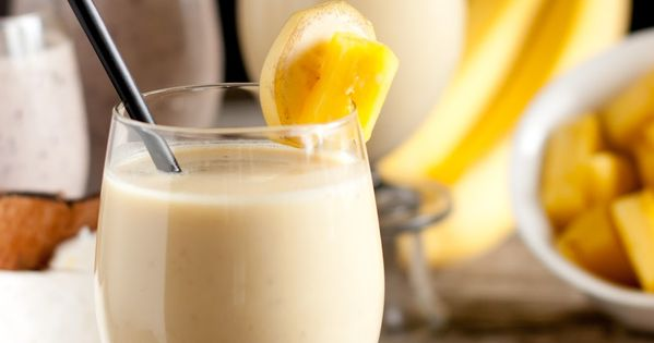 Pina Colada Smoothie Ingredients: 1 cup Almond Milk Plus Protein, divided 1/4