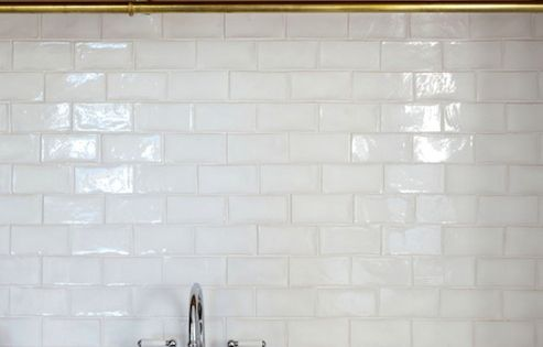 White 4x6 Quot Subway Tiles For Kitchen Backsplash Project