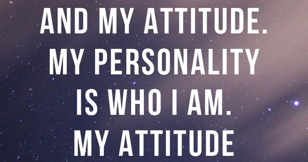 am who i attitude - photo #8